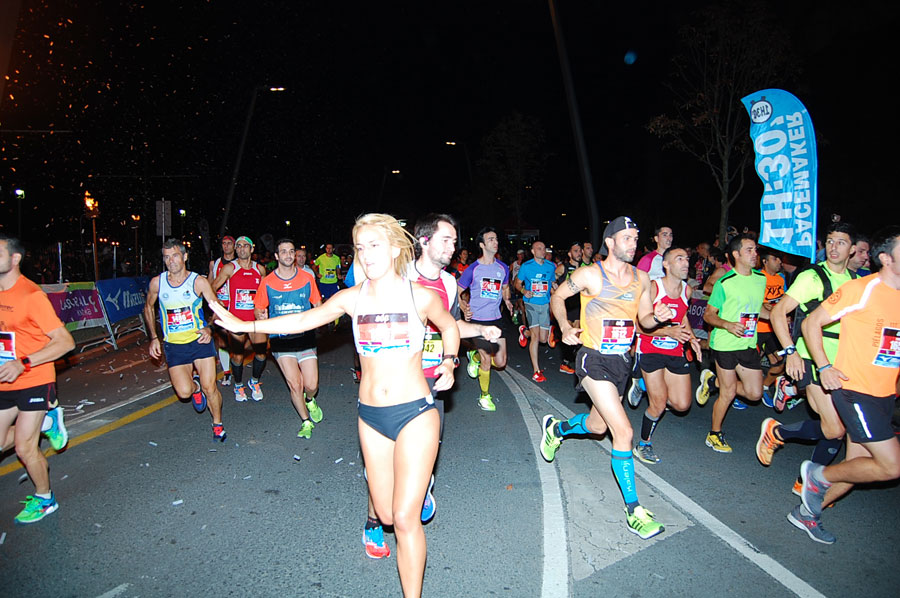 Foto 13: Fotos Salida Bilbao Night Marathon 2015