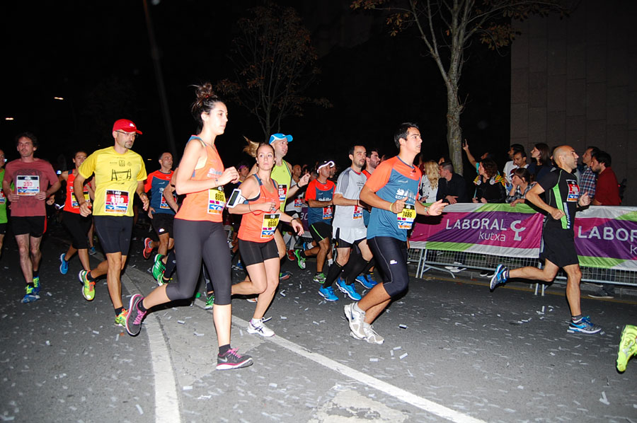 Foto 34: Fotos Salida Bilbao Night Marathon 2015
