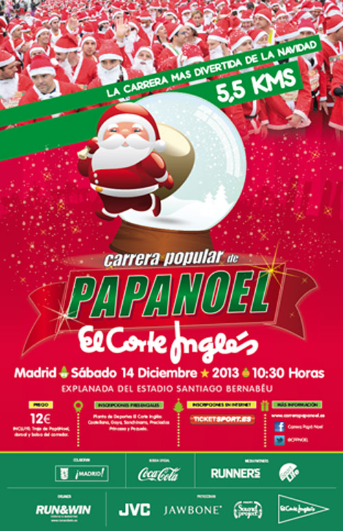 Carrera Popular de Pap� Noel 2013
