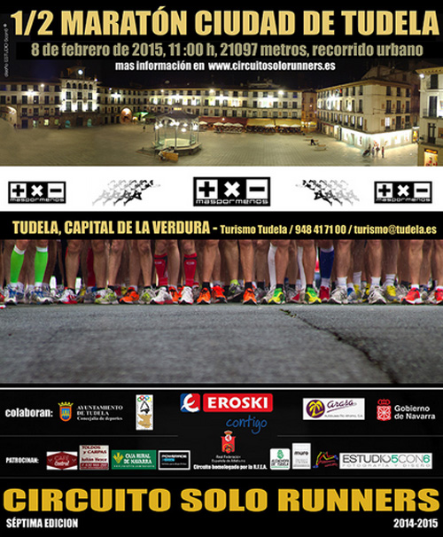 Media Maratón Tudela 2015