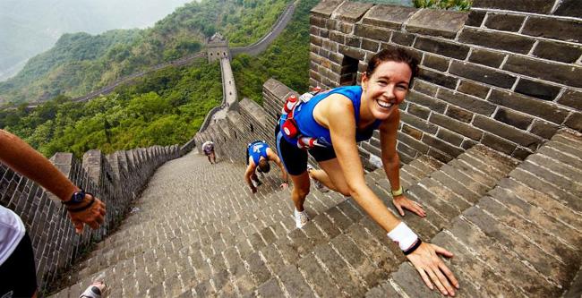 Maratón de la Gran Muralla China 2015, 5.164 escalones de esfuerzo, sudor e historia