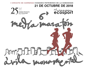 Media Maratón Ávila Monumental 2018, inscripciones
