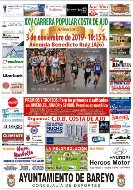 Carrera Popular Costa de Ajo 2019